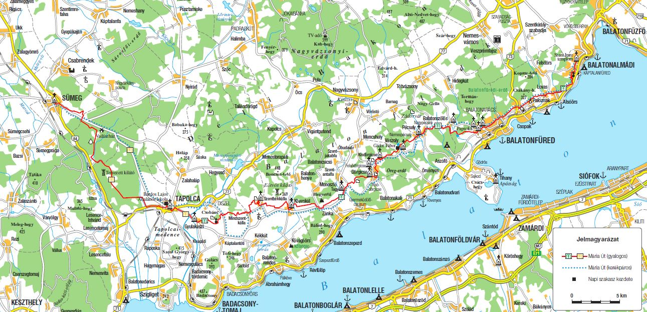 balaton felvidék térkép Balaton felvidék balaton felvidék térkép