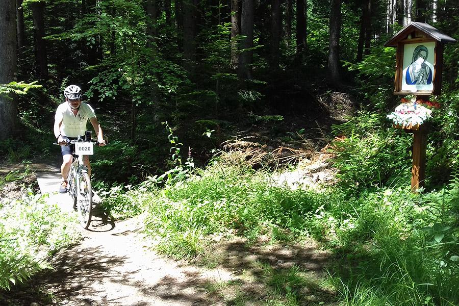 Kerékpáros zarándoklat a Mária Út É-D-i vonalán